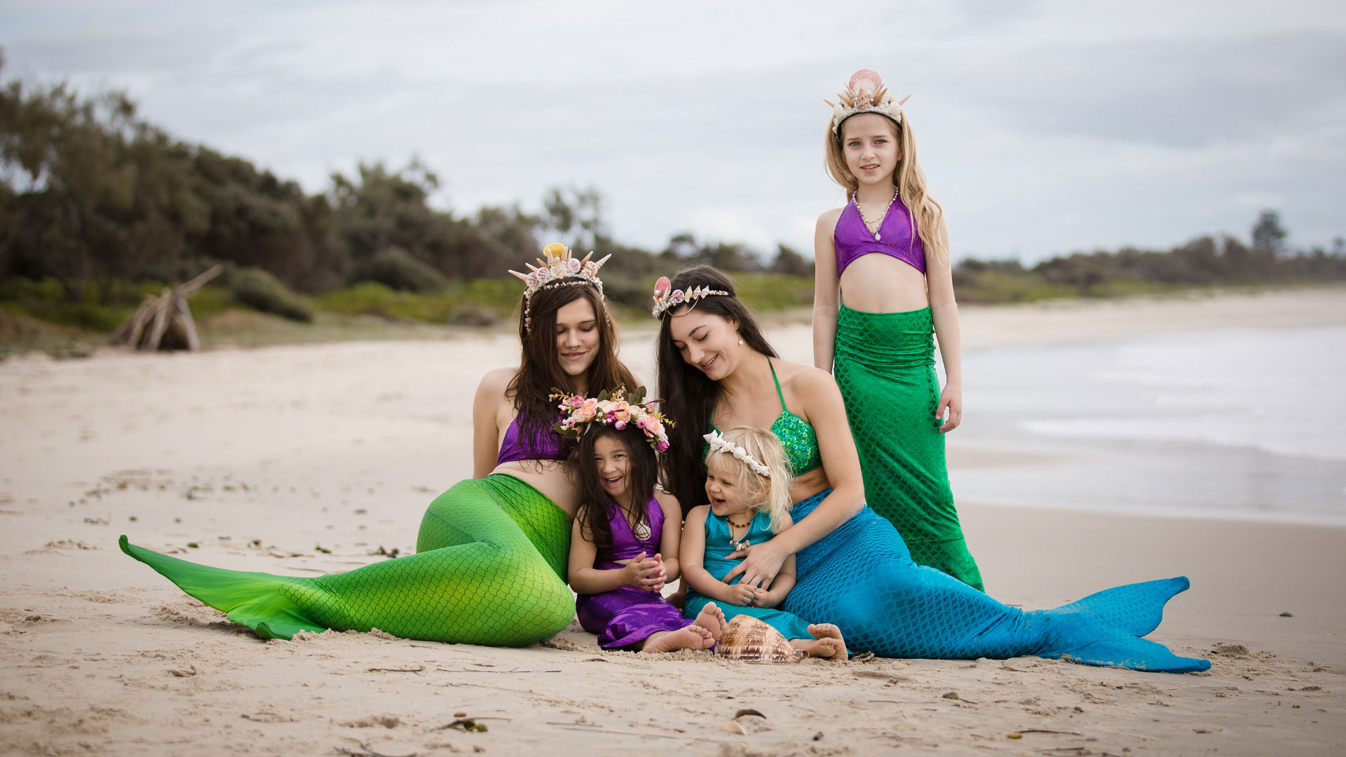 mermaid-family